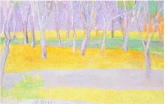 , 'Tree Trunks on a Rise,' , Adelson Cavalier Galleries
