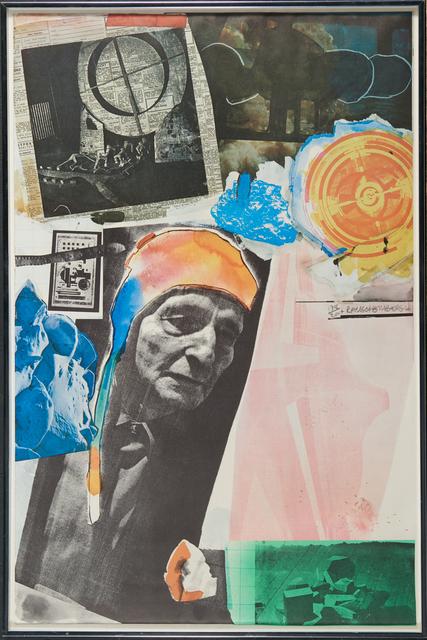 Robert Rauschenberg, 'Homage to Frederick Kiesler', 1966, Rago/Wright