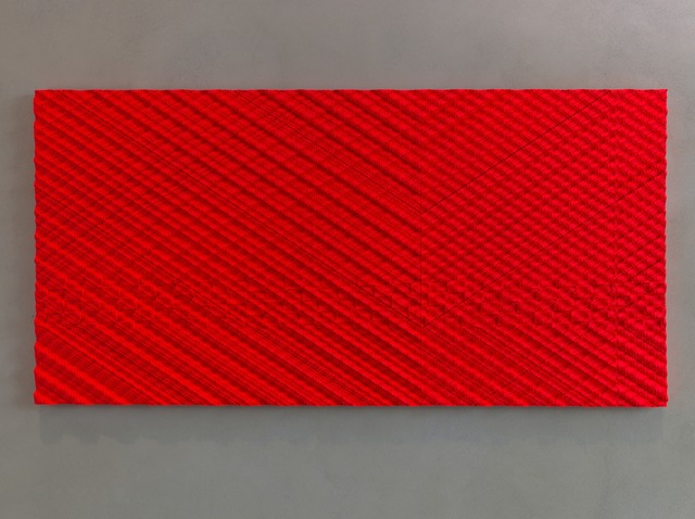 , 'Intersecting Streams Red,' 2012, Loyal