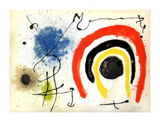 Joan Miró, 'Le Lézard aux Plumes d'Or', 1971, Wallector