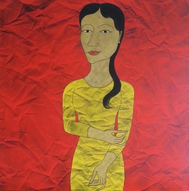 , 'Myanmar Woman,' 2015, Connecting Myanmar