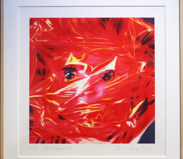 James Rosenquist, 'Gift Wrap Doll', 1993, Woodward Gallery