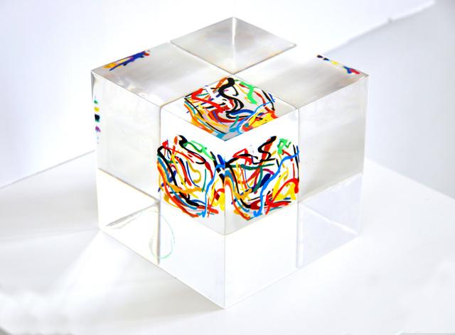 Susi Kramer, 'Dancing Lines', 2012, Sculpture, Acrylic glass, Claudine Gil
