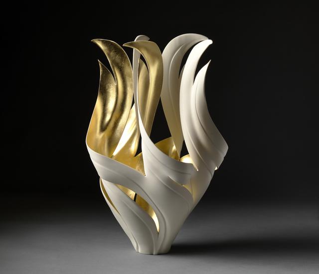 , 'Gilded Torch Vessel,' 2018, West Branch Gallery