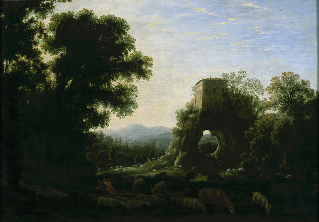 Claude Lorrain, 'Pastoral Landscape', 1628, Blanton Museum of Art