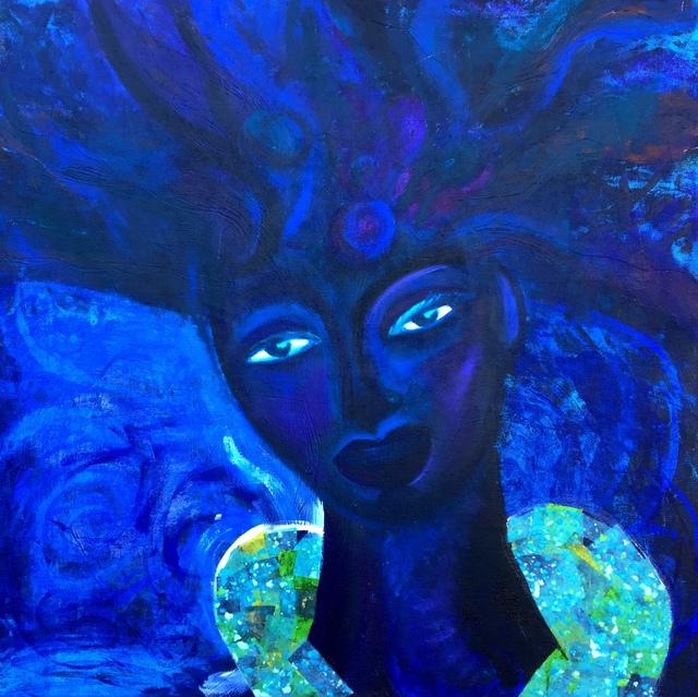 Natalie Alleyne, 'Indigo Queen', 2018, 73 See Gallery