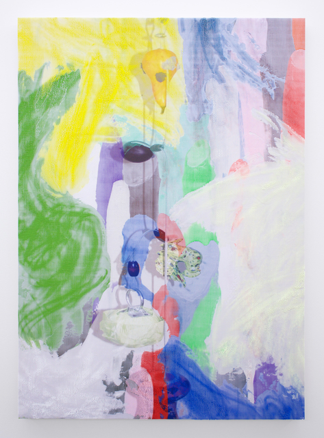, 'Manifold Painting (Perishable Gestures),' 2017, Romer Young Gallery