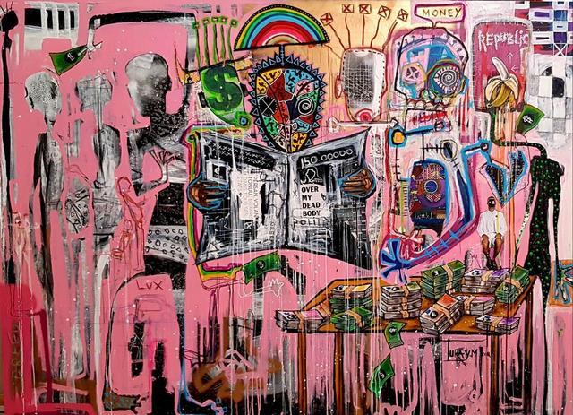 Mederic Turay, 'Over my dead body', 2018, Afikaris