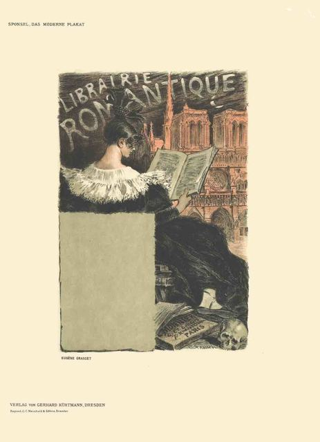 Eugène Samuel Grasset, 'Eugene Grasset - Librairie Romantique - 1897', 1897, ArtWise