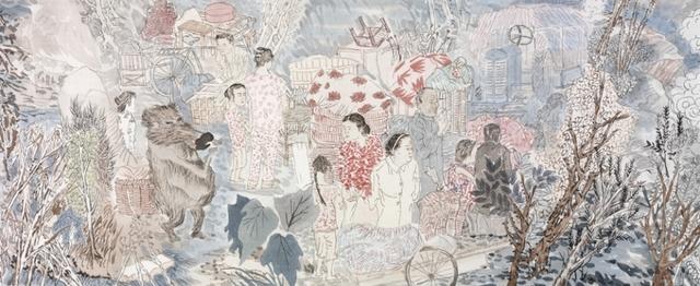 Yun-Fei Ji 季云飞, 'The Three Gorges Dam', 2009, Paper in fabric box, Zucker Art Books