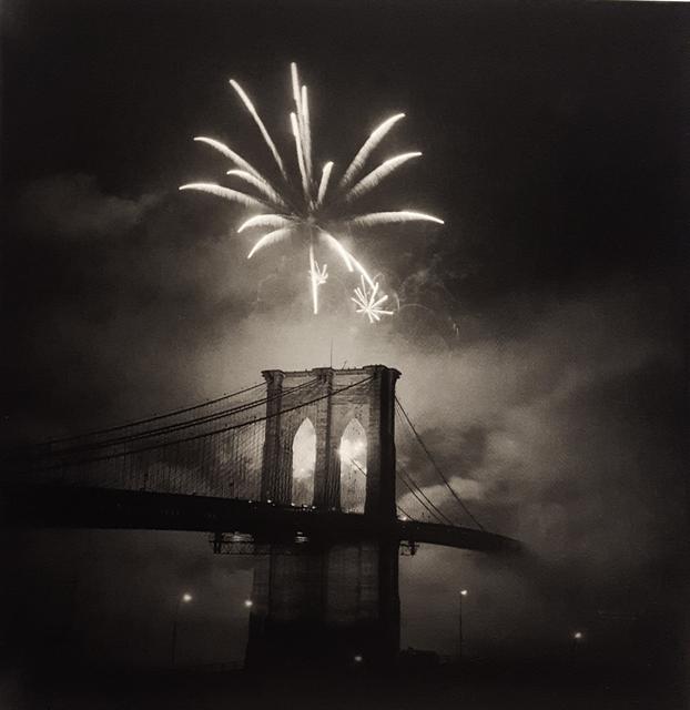 , 'Brooklyn Bridge Centennial, Single Burst,' 1983, Robert Klein Gallery