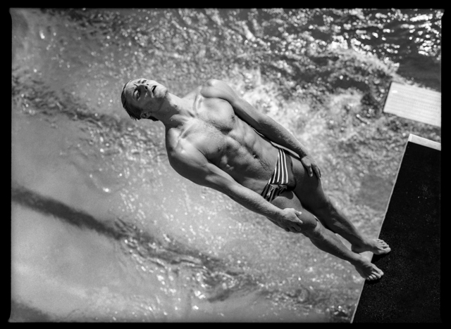 , 'Platform Diving, Olympic previews, Fort Lauderdale, Florida, USA May,' 1996, Brooklyn Museum