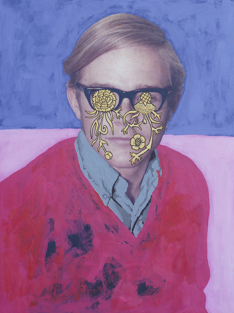 Daisy Patton, 'Untitled (Flower Eyes)', 2017, k contemporary