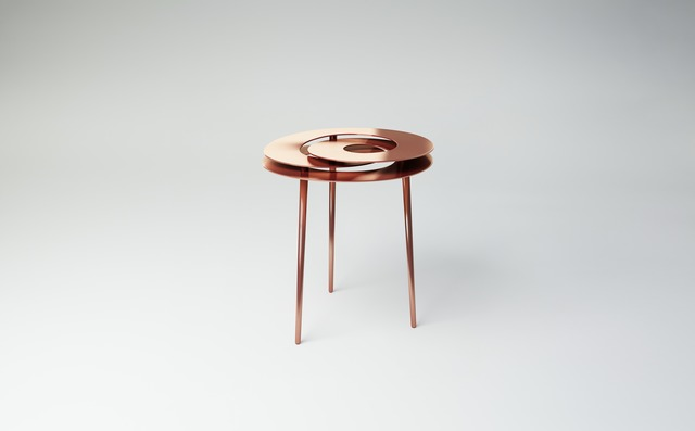 , 'Rollercoaster Small Table (Copper Plated),' 2014, Gallery ALL