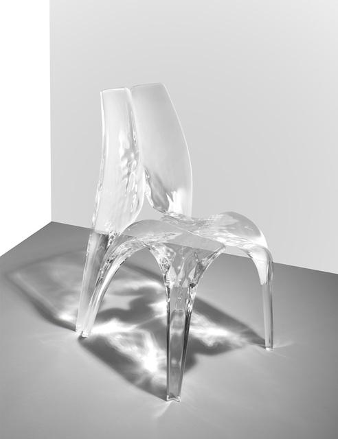 Zaha Hadid, 'Chair 'Liquid Glacial'', 2015, David Gill Gallery