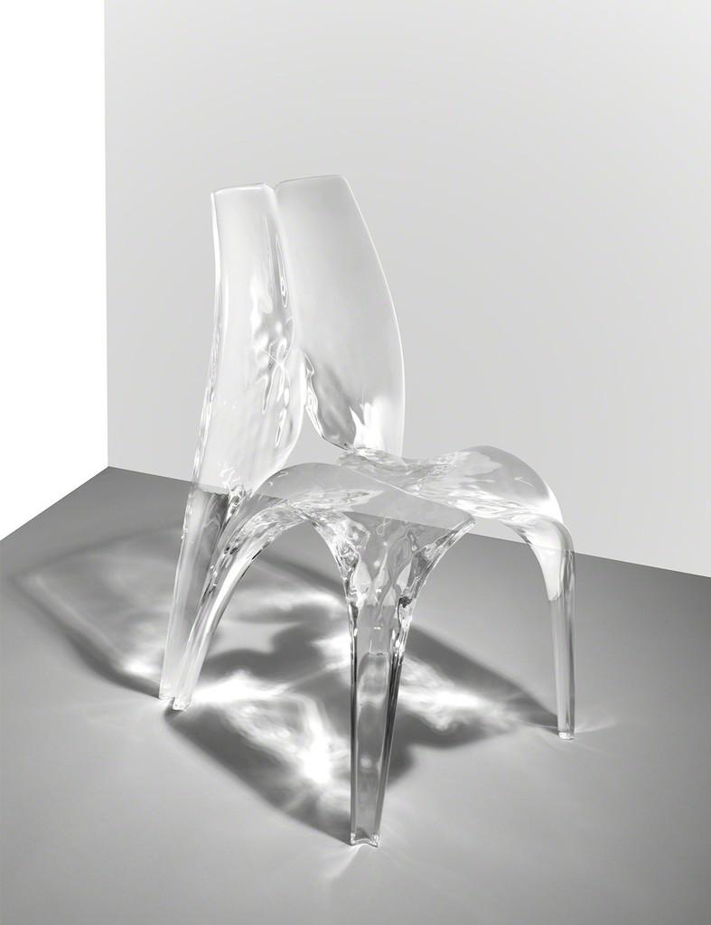 Chair 'Liquid Glacial'