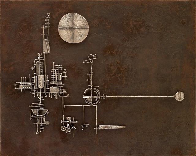 , 'La luna, il sole, la torre,' 1955, Tornabuoni Art