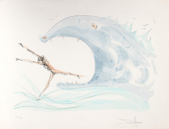 Salvador Dalí, 'Jonah and the Whale', 1975, RoGallery