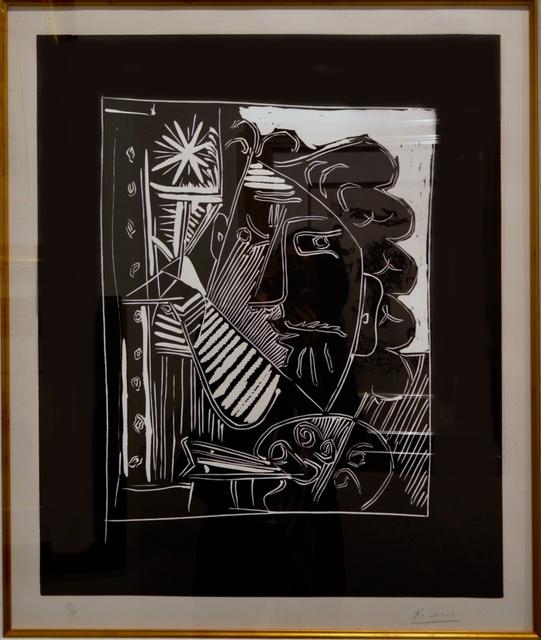Pablo Picasso, 'Le Peintre A La Palette ', 1963, Off The Wall Gallery