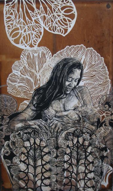 , 'Dawn and Gemma,' 2014, Anita Shapolsky Gallery