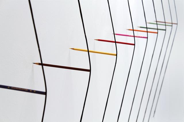 , 'Drawing Machine,' 2015, Galería Cayón