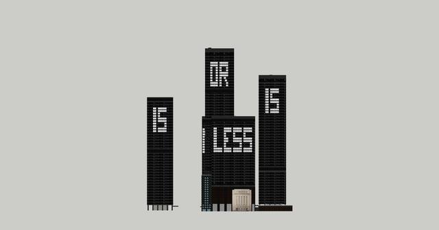 , 'Less is more or ... #2,' 2015, Galerie Antoine Ertaskiran