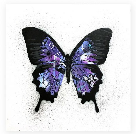 , 'Butterfly (purple),' 2017, Spoke Art
