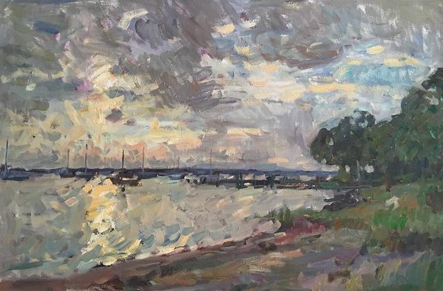 Ben Fenske, 'Dering Harbor', 2017, Grenning Gallery