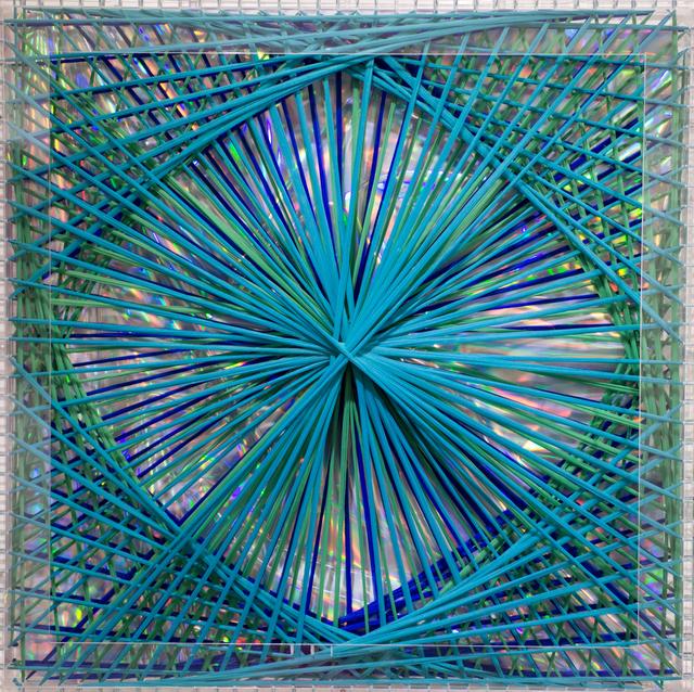 , 'Rainbow Catastrophic Bifurcation Turquoise,' 1998, GR Gallery