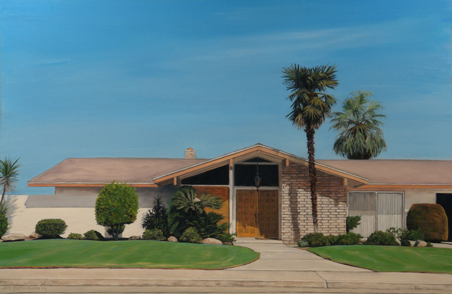 , 'Lawns and Palms,' 2009, Sue Greenwood Fine Art
