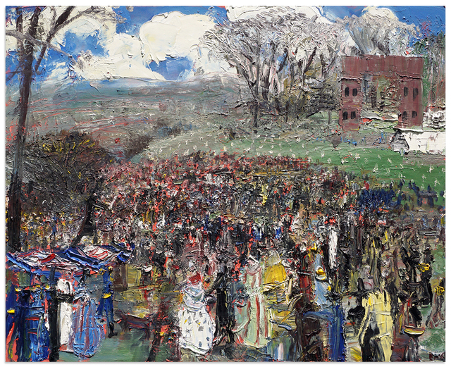 , 'Lincoln Addressing the People at Gettysburg,' 2017, Anna Zorina Gallery