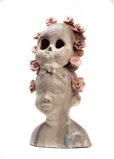 , 'Child With Death Mask,' 2016, Abmeyer + Wood Fine Art