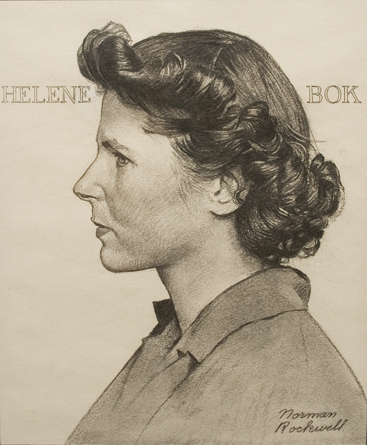 , 'Portrait of Helene Bok,' ca. 1944, Forum Gallery