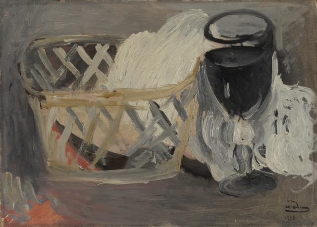 André Derain, 'Le Verre Noir', 1913, Yale University Art Gallery