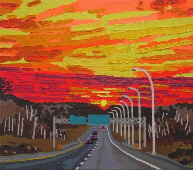 , 'Left Lane Must Exit,' 2018, Studio 21 Fine Art