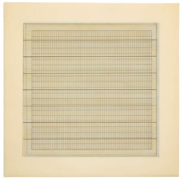 Agnes Martin, 'Paintings and Drawings: Stedelijk Museum Portfolio', 1990-91, Hindman