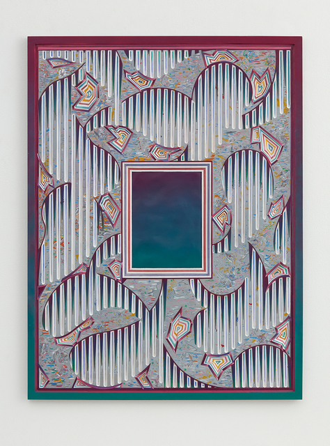 , 'Rainy Daze Window,' 2015-2016, David Kordansky Gallery