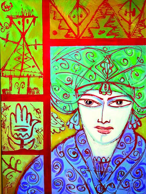, 'Shahrazad III,' 1993, Hafez Gallery