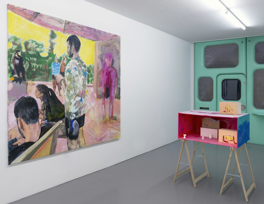 Sam Samiee, Casino Copernicus, exhibition overview, 2018, Galerie Fons Welters, Amsterdam.
