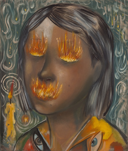 , 'Candle Girl,' 2016, Mendes Wood DM