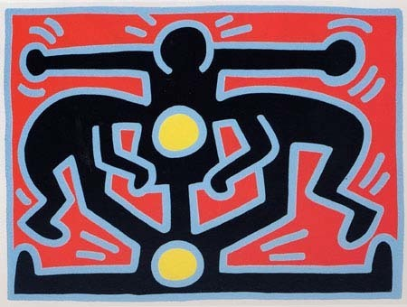 Keith Haring, 'Growing #3', 1988, Taglialatella Galleries