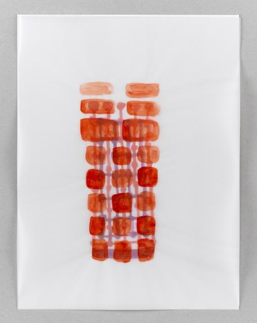 , 'Red Building,' 2012, Anne Mosseri-Marlio Galerie