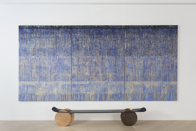 , 'Bench,' 2016, Galerie Dutko
