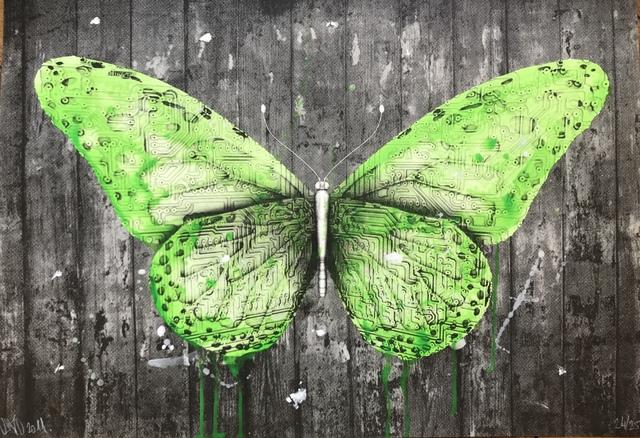 LUDO, 'Papillon', 2011, Digard Auction
