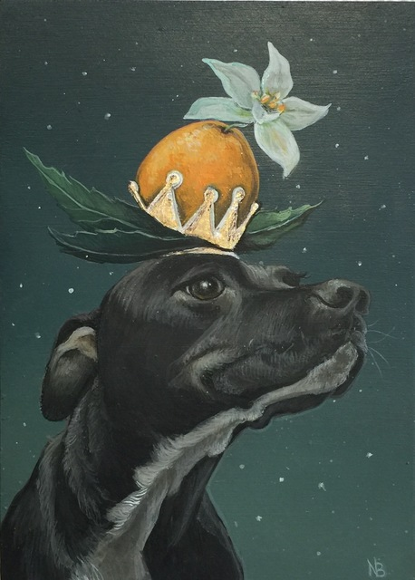 , 'Queen of the Orange Blossoms,' 2017, Flower Pepper Gallery