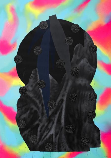 , 'Black Plants Pot 4,' 2017, KOLLY GALLERY
