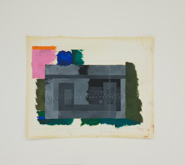 , 'Homenagem (Teste de cores J. Albers) XIII,' 2016, Galeria Enrique Guerrero