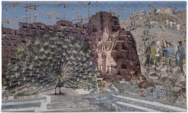 Aziz + Cucher, 'The Visitor', 2016, Textile Arts, Cotton jacquard weaving, Gazelli Art House