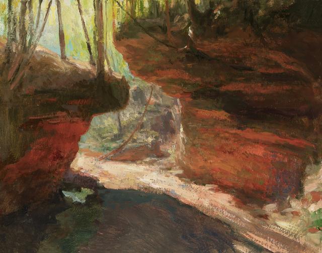 , 'Houghton Falls,' 2018, Helena Fox Fine Art