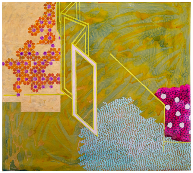, 'the space between (boundaries and veils),' 2018, Nancy Toomey Fine Art